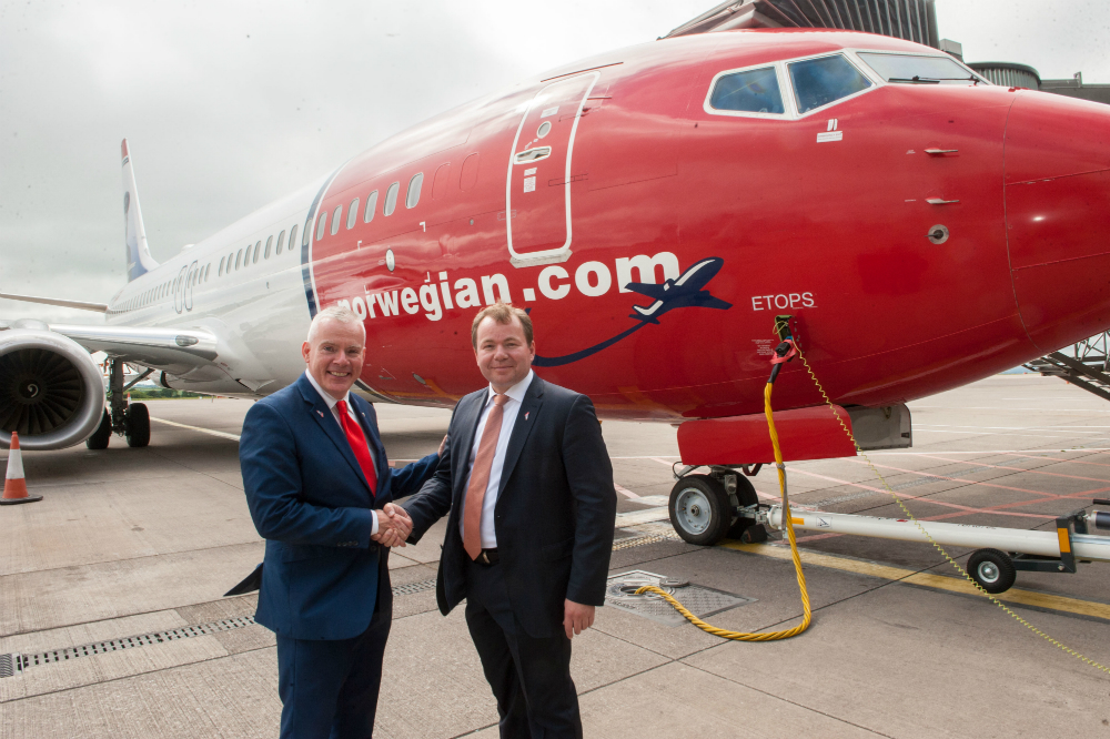Cork Airport Celebrates One Year Of Direct Transatlantic Connectivity To Boston Providence