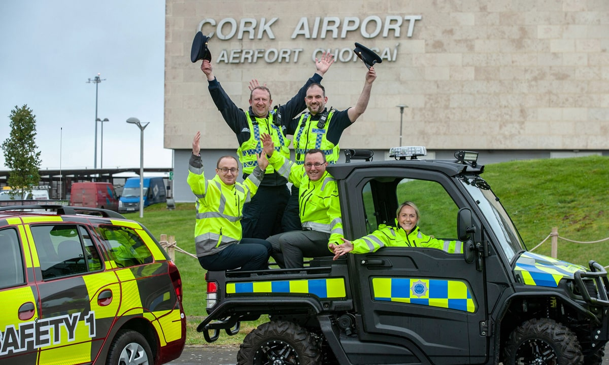 Three New State-Of-The-Art Policing And Safety Vehicles For Cork Airport